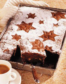 Brownies - Weihnachtsgebäck: Kuchen & Torten - [LIVING AT HOME]