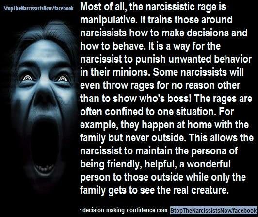 Narcissistic rage mother