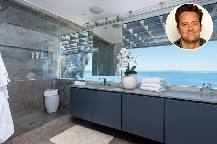 Ванная комната Мэттью Перри
