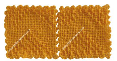 Tutorial: cuadrado con zigzag para tejer en telar de mesa de 11 por 11 cm.!