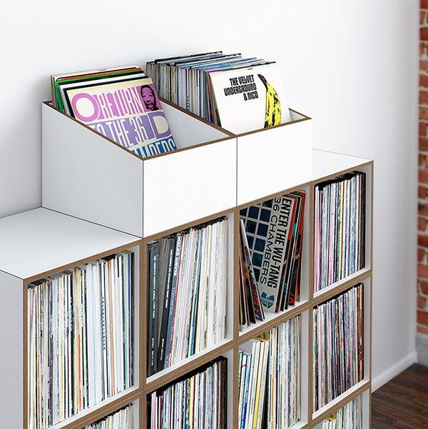 die besten 25 plattenregal ideen auf pinterest. Black Bedroom Furniture Sets. Home Design Ideas