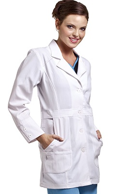WonderWink Women's Ermance Coat Lab Coat