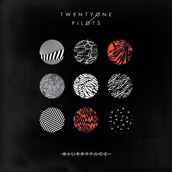 BlurryFace- AMAZING album I LOVE IT.. by 21 Pilots |-/   Favorite songs: Heavydirtysoul and The judge