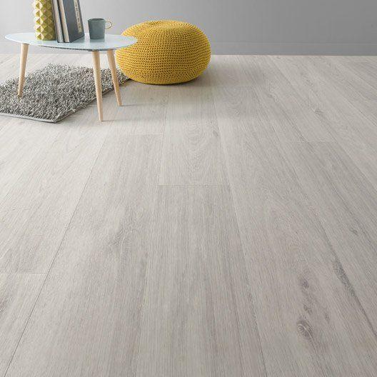 13€/m² Sol vinyle Textile noma blanc, ARTENS, 3 m