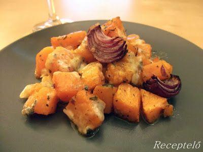 Receptelő: Pikáns fűszeres sütőtök