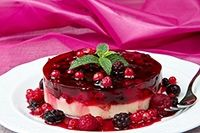 Receta de Tarta de Yogurt y Frutas Del Bosque