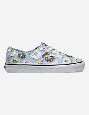 VANS Late Night Authentic Womens Shoes Blue