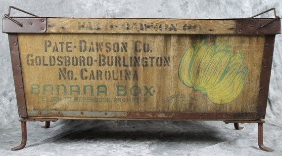 The 23 Best Vintage Banana Crates Images On Pinterest