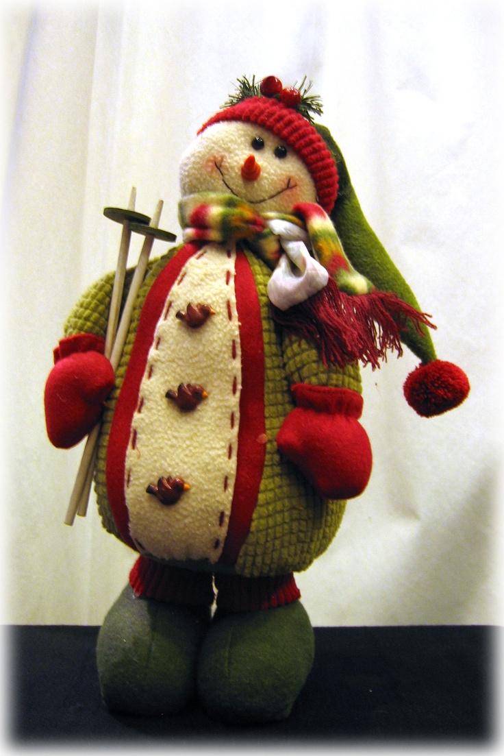 ESPECIAL NAVIDAD: muñeco de nieve