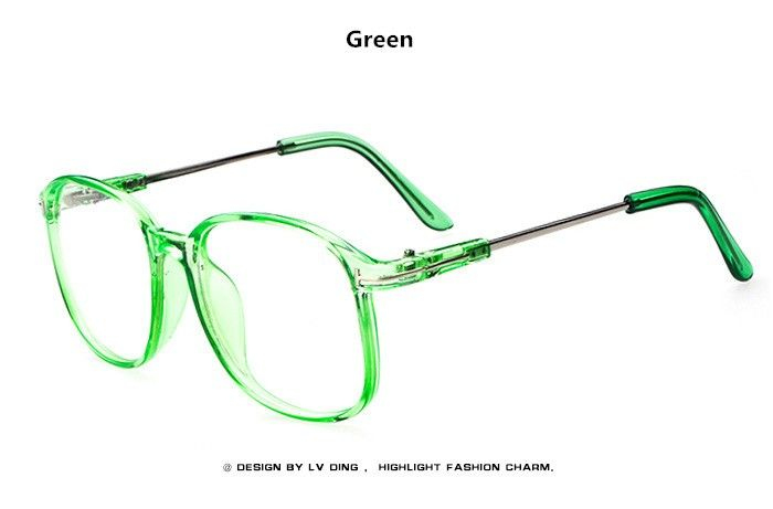 Vintage Retro Oversized Eyeglasses Frame Women Fashion Round Computer Glasses Men Brand Optical Spectacle Frame oculos grau Who like it ? Visit us
