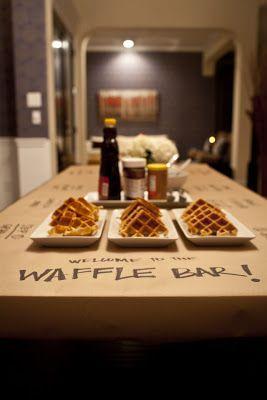 Brunch Party - Waffle Buffet ~ Karen's Soiree