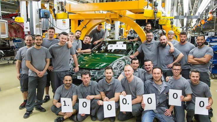 One-Millionth Porsche 911