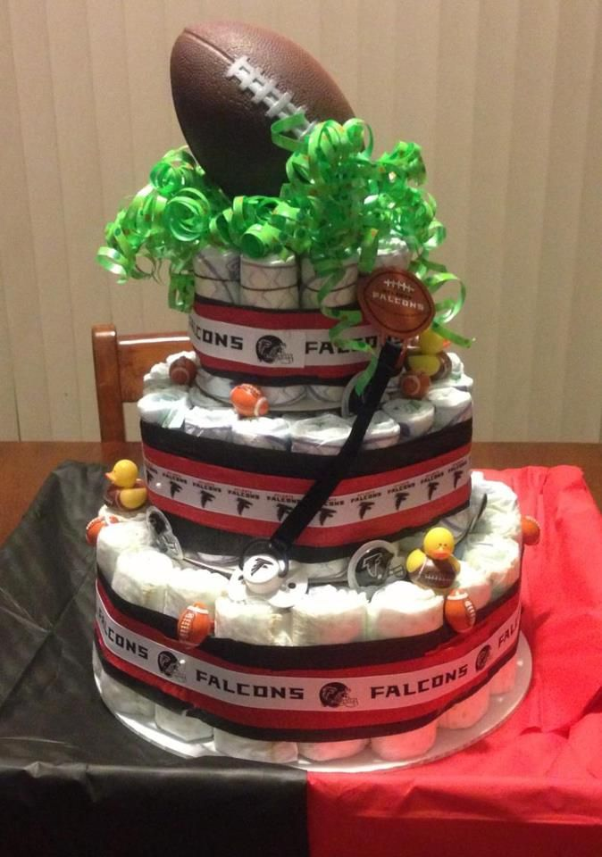Baby Shower Cakes In Atlanta ~ Atlanta falcons theme baby shower sounds great to us