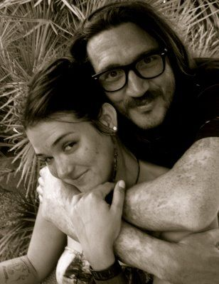 John Frusciante and his wife Nicole Turley. | People I ...