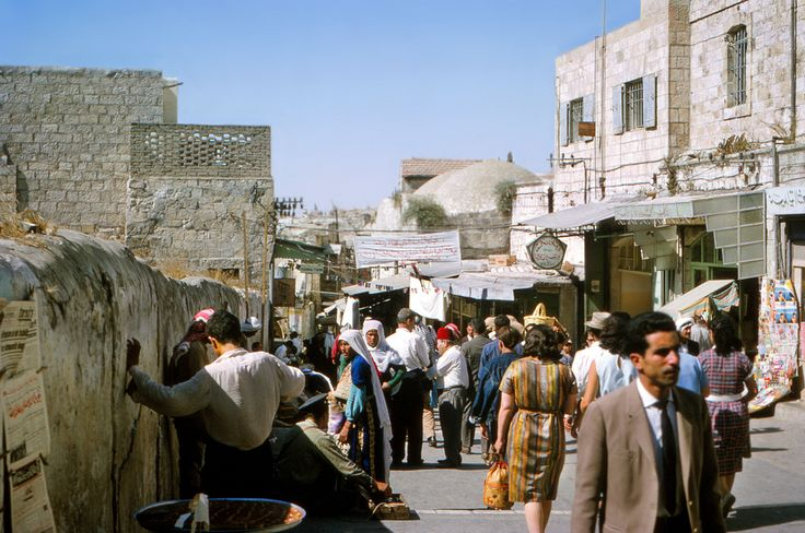 Souk-in-Jerusalem-Aug-1964-after.jpg (I had come out of the dark shop doorway into the dazzle of the Damascus sun, my arms full of silks.)