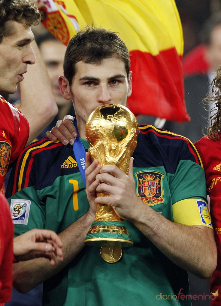 World Cup Champions 2010. I knew they would win. Because I mean just look at him. Mmm mmm mmm