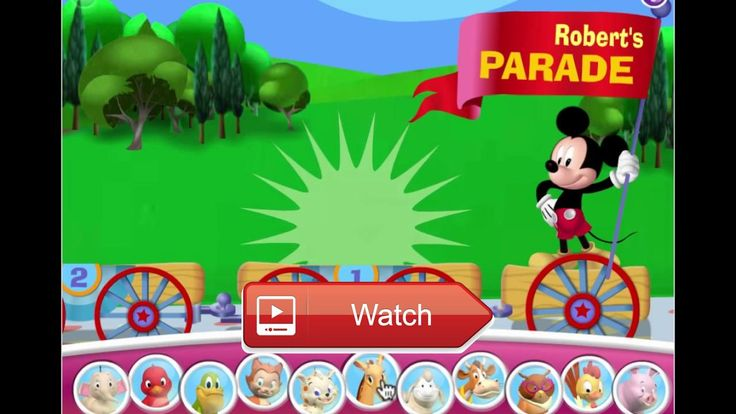 😸 Mickeys Animal Video Parade Mickey Mouse Clubhouse Game 🐶 🎠 on Pet Lovers 🐼