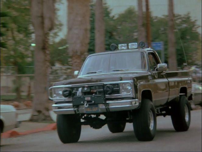 """The Fall Guy"" 1980 GMC High Sierra"