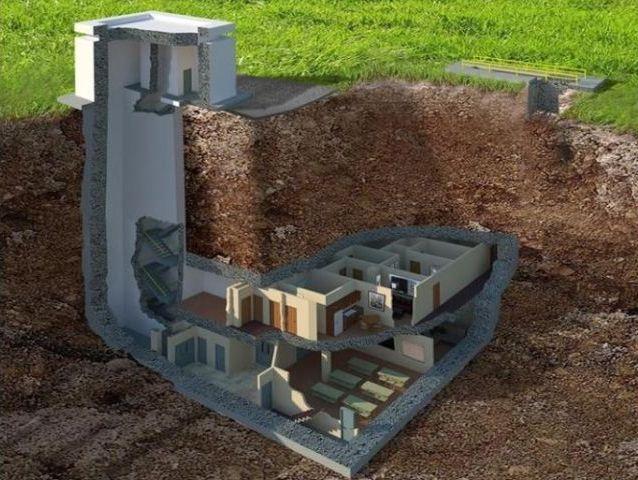 El bunker subterráneo para explosiones nucleares está a la venta, tan solo vale $17 millones de dólares. #datoscuriosos #interesante #arquitectura