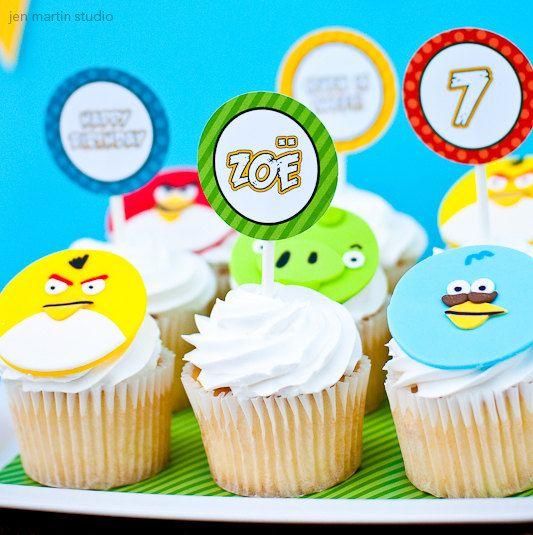 Kara's Party Ideas   Kids Birthday Party Themes: Angry Birds Birthday Party!