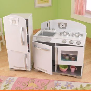 Kidkraft Retro Kitchen and Refrigerator - Google Search
