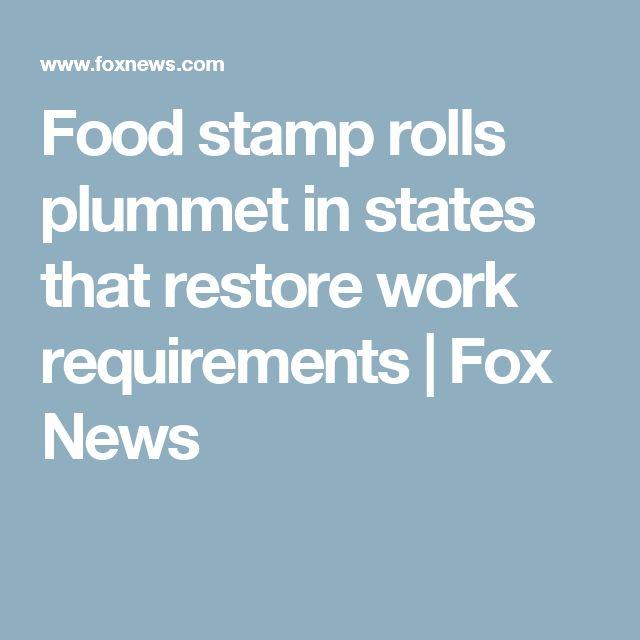VIDEO Food stamp rolls plummet in states that restore work requirements | Fox News