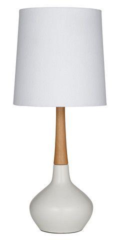 Elke Table Lamp 59cm White Dipped Base – Lifestyle Home & Living