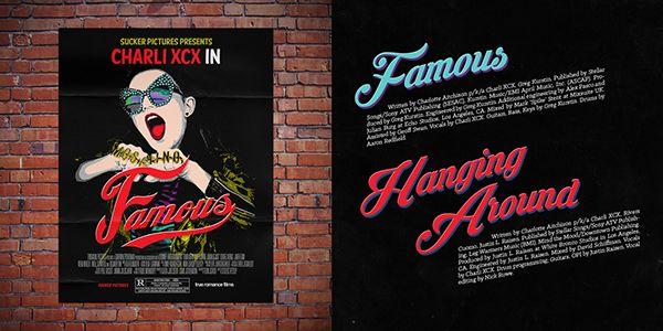 Charli XCX 'Sucker' Album Packaging on Behance