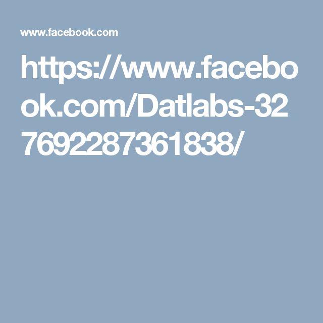 https://www.facebook.com/Datlabs-327692287361838/
