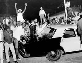 WATTS RIOT in 1965 (Los Angeles) Stemmed from Police Discrimination and Police Abuse of Blacks and Latinos.