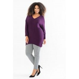 Hi-Low V-Neck Sweater