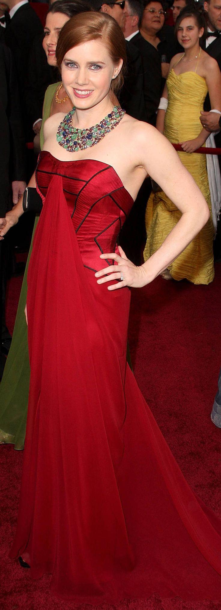 Amy Adams wears Carolina Herrera - Academy Awards 2009: Amy Adam, Celebrity Style, Celebrityfashion Redcarpet, Seeking Amy, Red Carpets, Carolina Herrera, Academy Awards, Oscars Dresses, 2009 Oscars