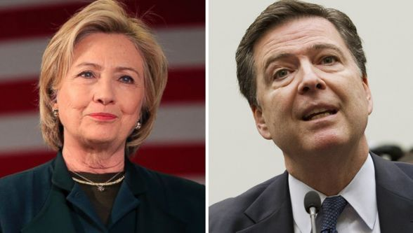 Hillary's Campaign Tries to Turn 'Saint James' Comey Into Ken Starr