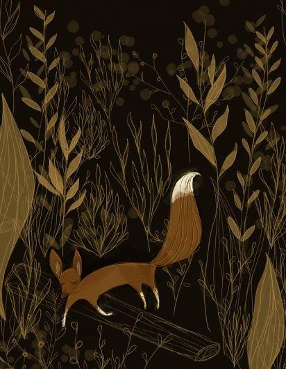 Fox Illustration « BlueBirdee