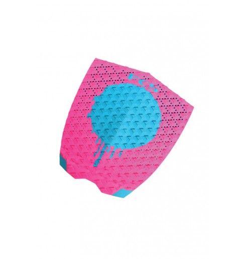 FCS Medina Tail Pad Hot Pink/Teal