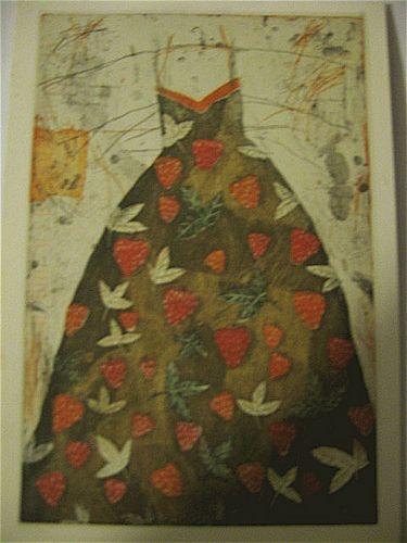 Strawberry Dress by Kirsi Neuvonen, 1987