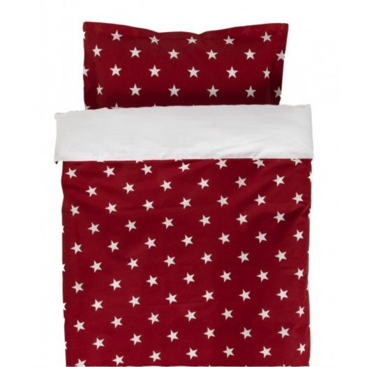 Säng-Set 6-dels Röd stjärna
