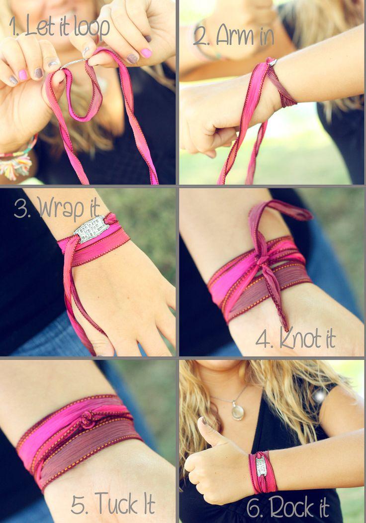 How to do the wrist wrap