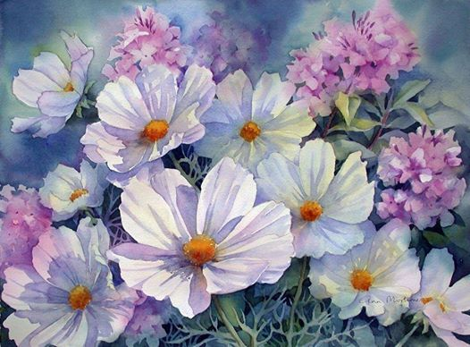 Ann Mortimer, watercolor