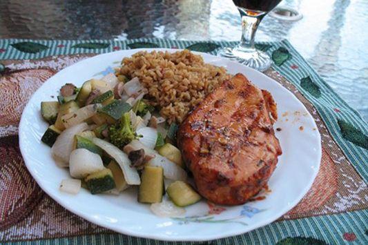 Marinade sucrée-salée pour poulet #recettesduqc #marinade #poulet