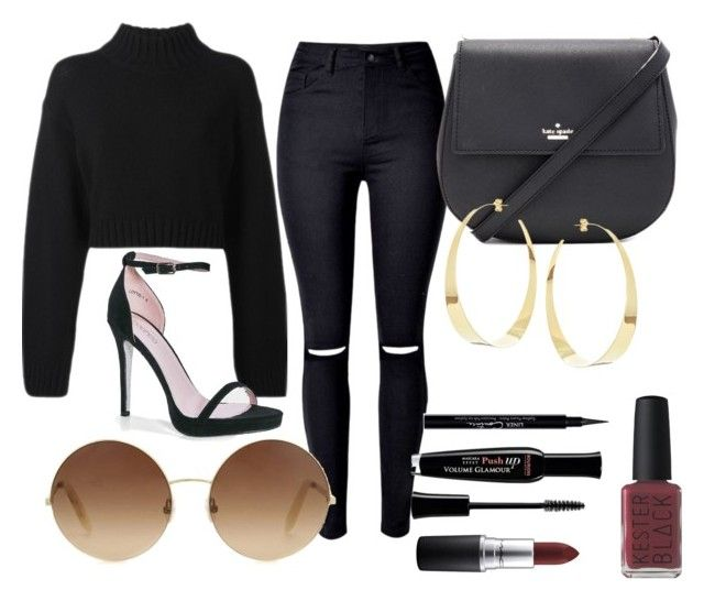 """#35"" by mercedes93 on Polyvore featuring moda, DKNY, Boohoo, Kate Spade, Victoria Beckham, Lana, MAC Cosmetics, Bourjois, Givenchy i Kester Black"