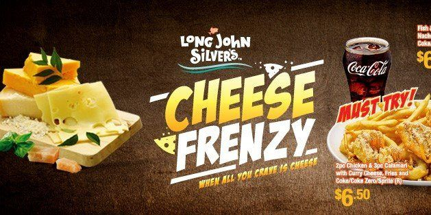 Long John Silver Cheese Frenzy Coupons Singapore Promotion 1 Aug to 15 Sep 2016