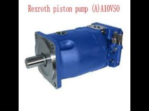 Rexroth piston pump AA10VSO Simple and compact structure