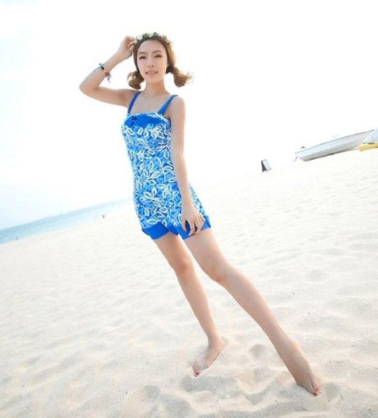 Amazon.co.jp: レディース水着 ワンピース 2カラー SwimwearCollection TC-29 【大きいサイズあり】: 服&ファッション小物