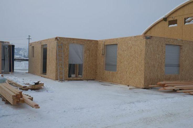 casa entramado ligero 104 m2 montaje