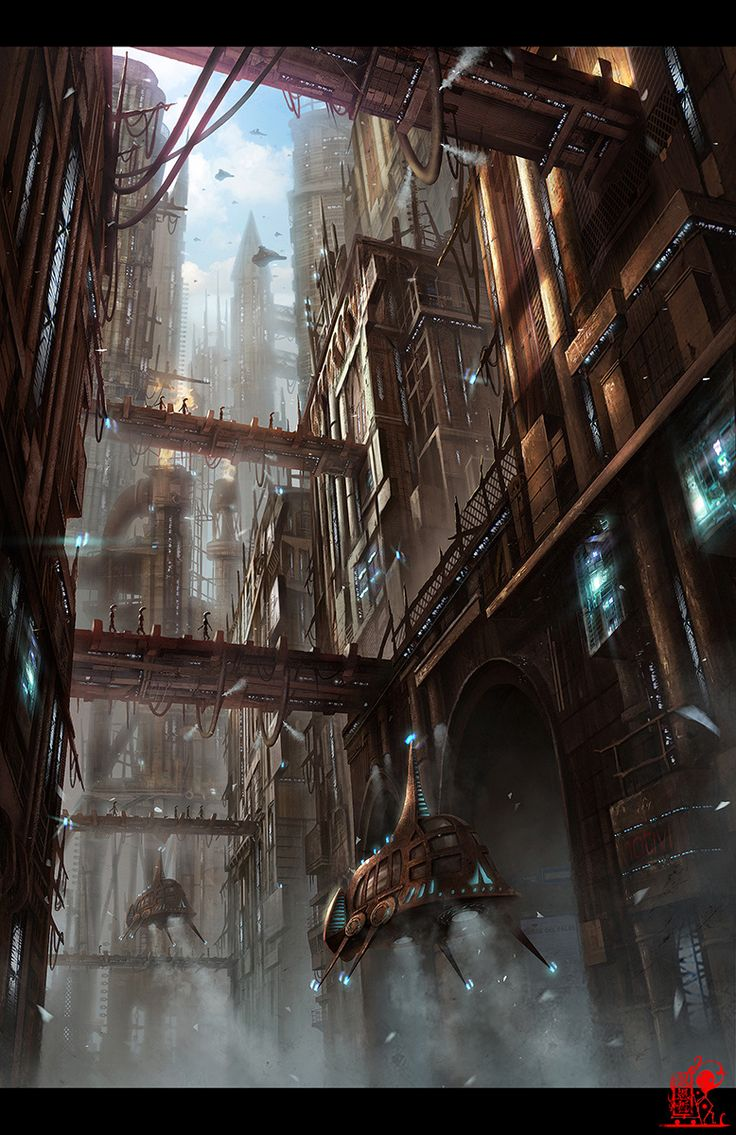 City of steam by zhaoenzhe on deviantART