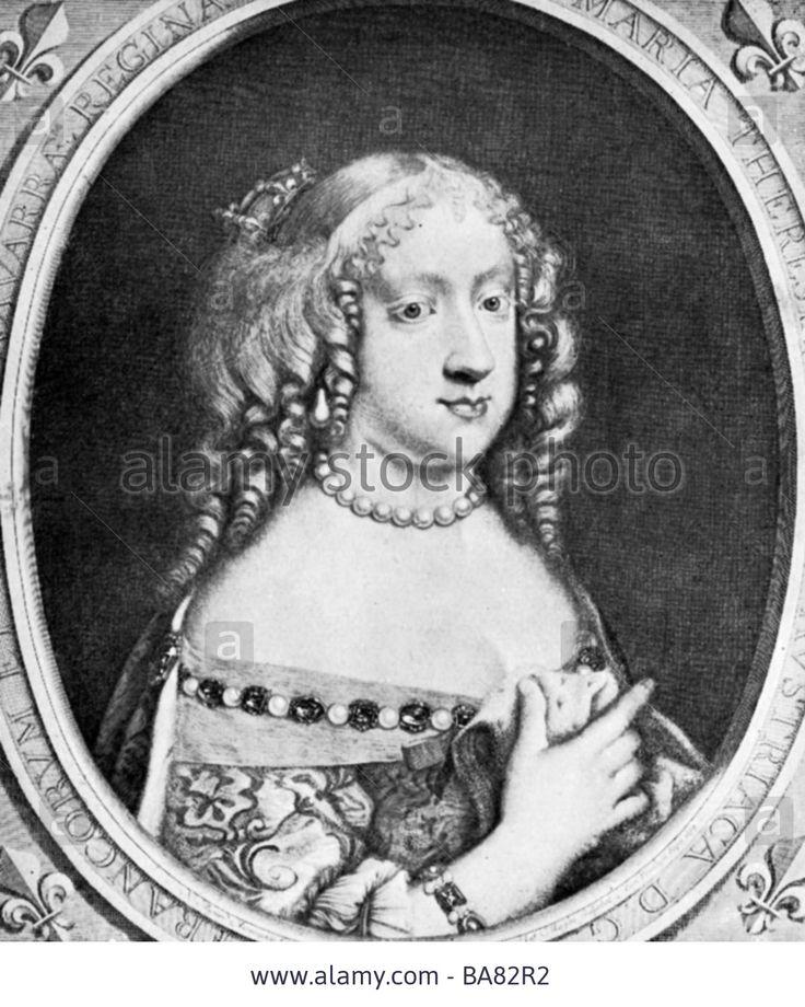 Maria Theresa, 10.9.1638 - 30.7.1683
