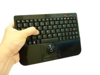 With Wireless Super MIni Trackball You Can Sit In A Office Conference Room Living