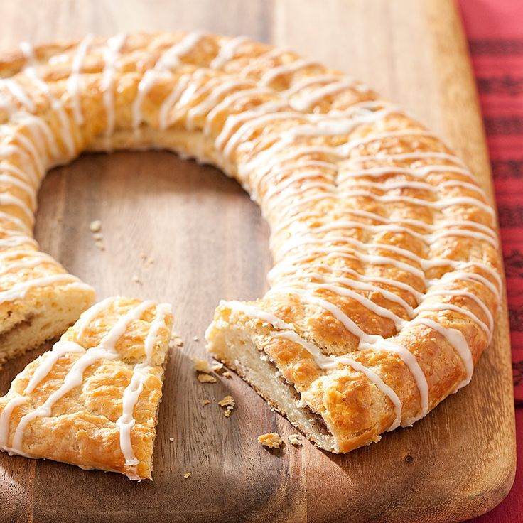 Pecan Kringle Recipe - Cook's Country. In Wisconsin (my homeland!) kringle is the king of Christmas desserts. This buttery Danish from Racine is rich and flaky and usually filled with something sweet.