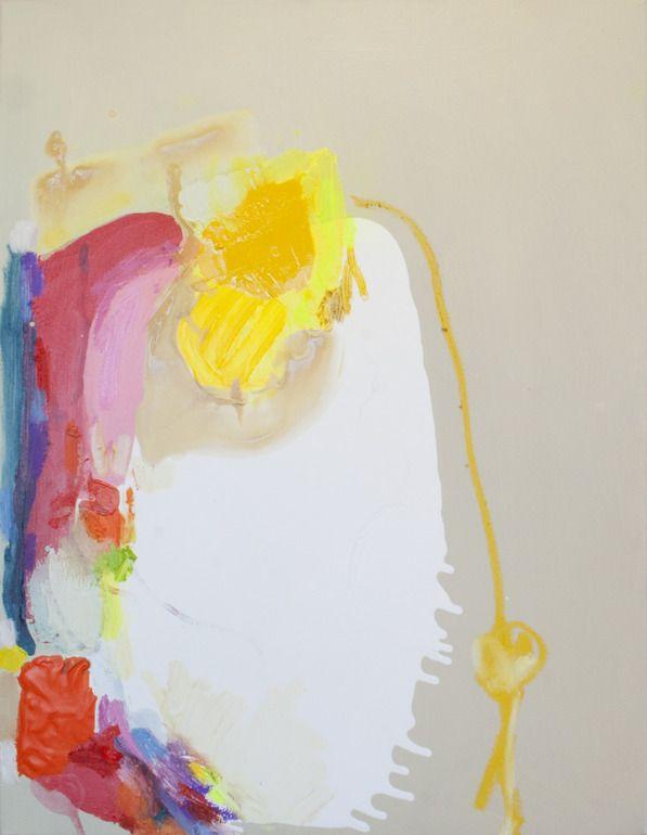 "Saatchi Online Artist: Claire Desjardins; Mixed Media, 2011, Painting ""Anticipate"""